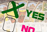 Yes / No Tarot Card
